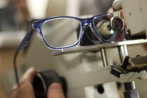 Mantenimiento de gafas